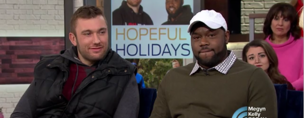 Innocent man and cop who unjustly jailed him are now friends