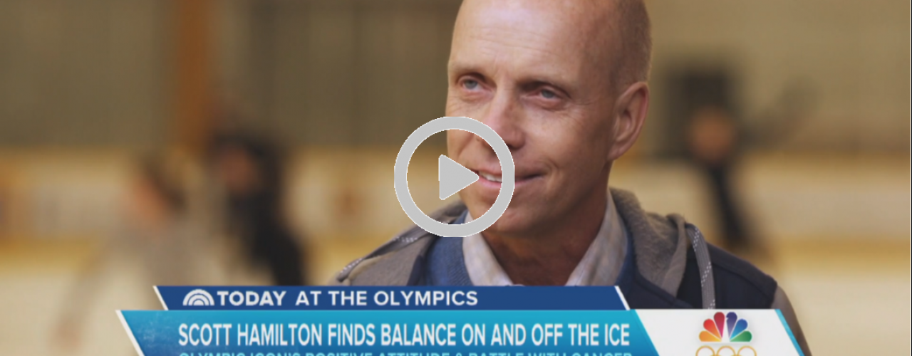 Scott Hamilton Gives Back
